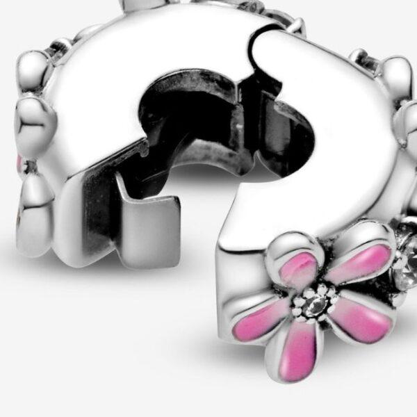 Pandora-Clip-Margherita-rosa-4