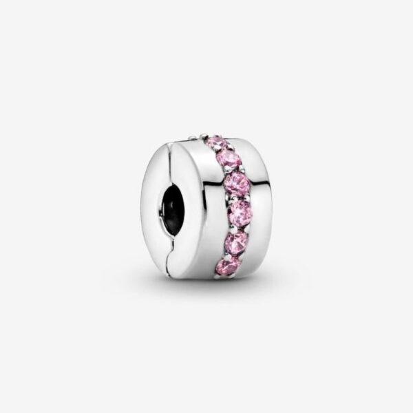 Pandora-Clip-Sentiero-rosa-scintillante-1