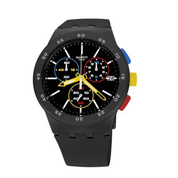 SWATCH - OROLOGIO UOMO BLACK-ONE
