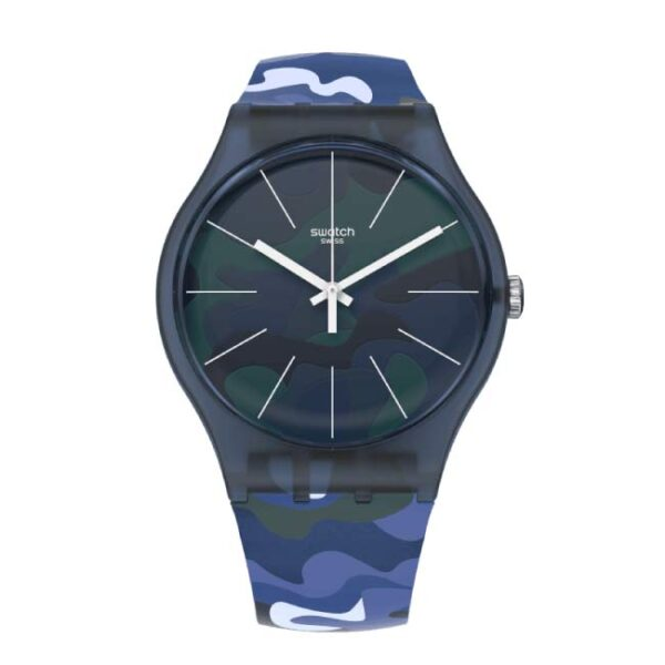 SWATCH - OROLOGIO UOMO CAMOUCLOUDS