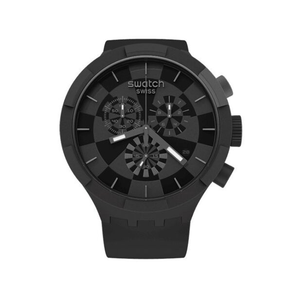 SWATCH - OROLOGIO UOMO CHECKPOINT BLACK