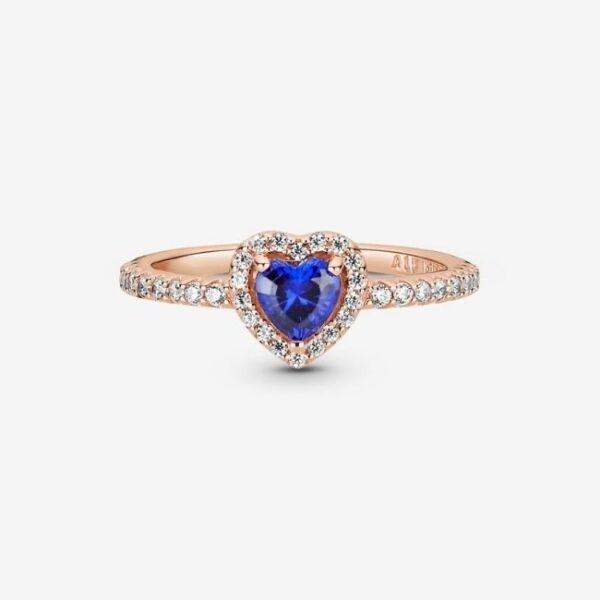 anello-pandora-cuoreblu-2