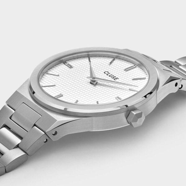 cluse Vigoureux Steel White 2