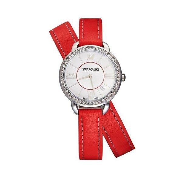 swarovski-orologio-donna-aila-red